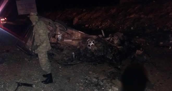 Nizip'te otomobiller çarpıştı: 3 Ölü 7 Yaralı
