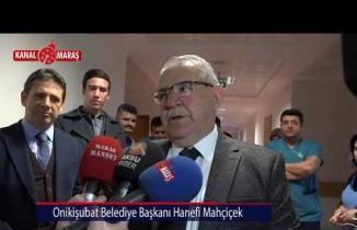 14 Mart Tıp Bayramı dolayısıyla Başkan Mahçiçek hastaları ziyaret etti