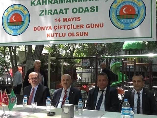 Kahramanmaraş'ta 'Çiftçiler Günü' kutlandı