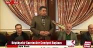 Büyükşehir Gazeteciler Cemiyeti Başkanı açıklamaları
