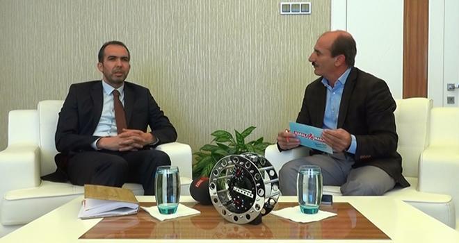 Başkan Özdemir, Açık Masa'nın konuğu oldu