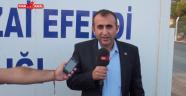 CHP Onikişubat ilçe Bşk. Ünal ATEŞ yeni mezarlık alanı basın açıklaması