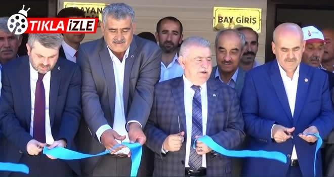 Onikişubat Belediyesi aynı anda 5 bilgi kültür evi açılışı yaptı