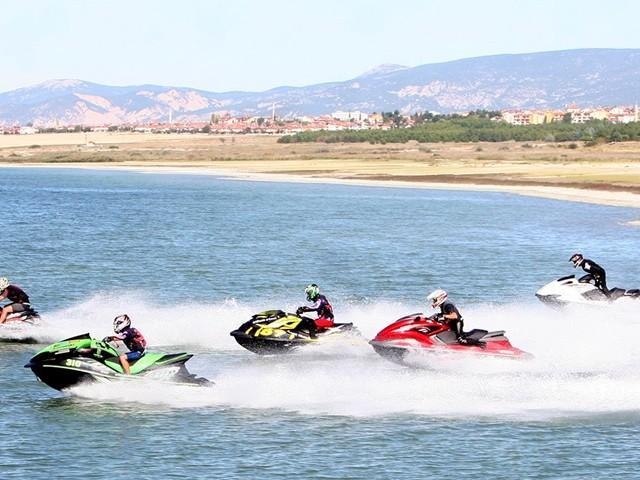 Türkiye Su Jeti ve Flyboard Şampiyonası Kahramanmaraş'ta
