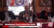 KMTSO Bşk Kemal Karaküçük Gazetecilerle bir araya geldi