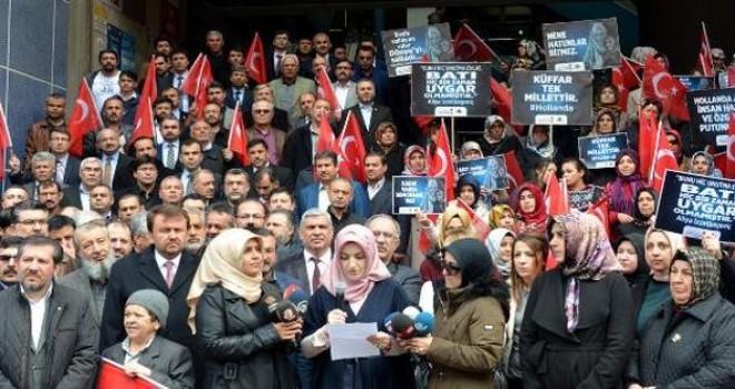 Kahramanmaraş'taki 70 STK'dan Hollanda'ya tepki