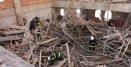 Kahramanmaraş'ta Ali Rıza Efendi Camii inşaatında göçük