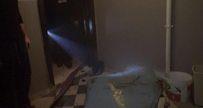 Kahramanmaraş'ta elektrikli battaniye yangını