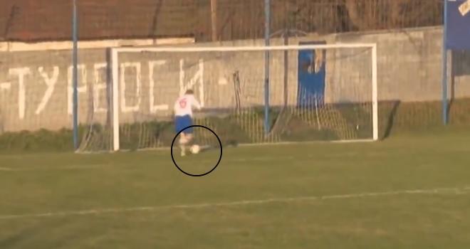 Bu Gol Nasıl Kaçar! Topu Boş Kaleye Atamadı