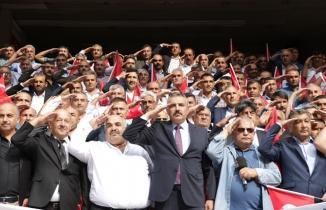Kahramanmaraşlı muhtarlardan Barış Pınarı Harekatı'na tam destek!