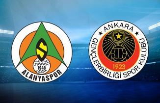 Alanyaspor - Gençlerbirliği maçı (CANLI İZLE)