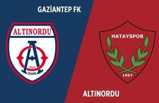Altınordu - Hatayspor maçı (CANLI İZLE)