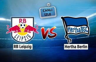 RB Leipzig - Hertha Berlin maçı (CANLI İZLE)