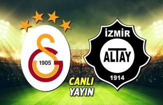Galatasaray Altay maçı CANLI İZLE