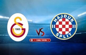 Galatasaray - Hajduk Split maçı (CANLI İZLE)