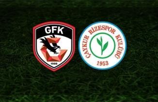 Gaziantep FK Çaykur Rizespor CANLI İZLE, Şifresiz Gaziantep FK Çaykur Rizespor maçı izle