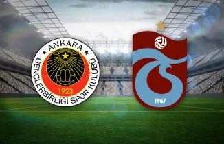 Gençlerbirliği Trabzonspor maçı (CANLI İZLE)