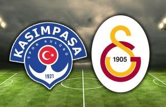 Galatasaray kaçtı, Kasımpaşa kovaladı: 2-2