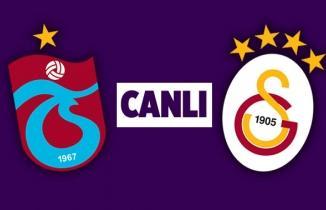 Derbide Trabzonspor ile Galatasaray puanları paylaştı!