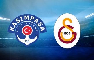 Kasımpaşa - Galatasaray maçı (CANLI İZLE)