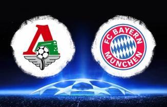 Lokomotiv Moskova - Bayern Münih Maçı Canlı İzle
