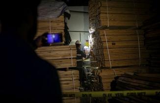 Ankara'da hırsızlık yaparken elektrik akımına kapıldı
