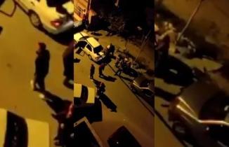 Kahramanmaraş'ta iki aile sokak ortasında birbirine girdi