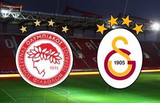 Olympiakos Galatasaray hazırlık maçı iptal oldu!