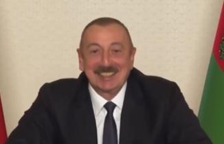 Aliyev böyle kendinden geçti: Ne oldu Paşinyan