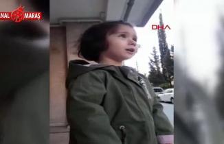 Sosyal medyada bu görüntü gündem oldu: Minik Elif'in sağlıkçı babasına sarılma isteği...