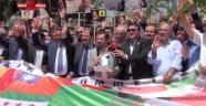 Kahramanmaraş'tan Muhammed Mursi'ye Destek Eylemi