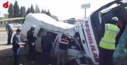 Kılılı-Çakallı mevkiinde Trafik Kazası