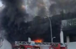 İstanbul Başakşehir'de yangın çıktı! Okulda büyük panik