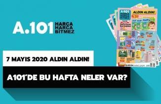 A101 7 Mayıs 2020 Aktüel indirim kataloğu