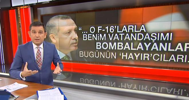 Fatih Portakal referandum rengini belli etti