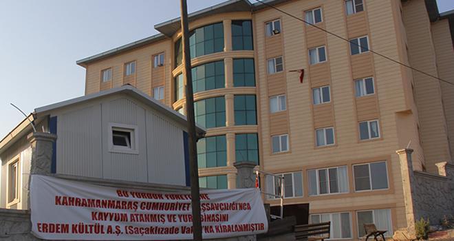 Kahramanmaraş'ta öğrenci yurt olayı!