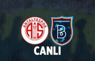 Antalyaspor - Başakşehir Maçı CANLI İZLE