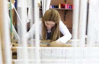 Kahramanmaraş'ta aba sanatı gün yüzüne çıkıyor