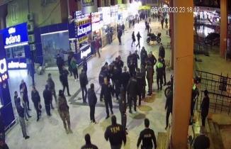 Adana'da otogarda kan aktı, o anlar kameralara yansıdı
