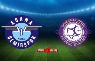 CANLI | Adana Demirspor - Osmanlispor maçı canlı yayın | Adana Demir Osmanlıspor canlı izle
