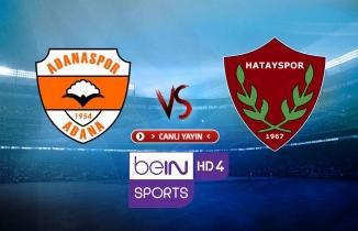 Adanaspor - Hatayspor maçı / CANLI İZLE
