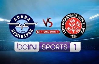 Adana Demirspor - Karagümrük maçı / CANLI İZLE