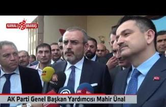 AK Parti Genel Başkan Yardımcısı Ünal'dan açıklama