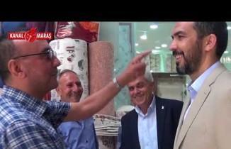 AK Parti Kahramanmaraş Milletvekili adayı Özdemir seçim çalışmalarını sürdürdü