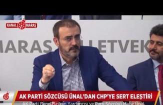 AK Parti Sözcüsü Ünal CHP'yi yerden yere vurdu!