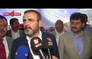 AK Parti Sözcüsü Ünal'dan İnce'nin gafına yorum
