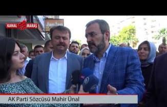 AK Parti Sözcüsü Ünal: Yarın aziz milletimizin iradesi sandıkta tecelli edecek