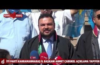AK Partili Cahit Özkan hakkında İYİ Parti'den suç duyurusu