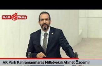AK Partili Vekil Özdemir: Partiler ticari faaliyetlerde bulunamaz