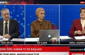 Meral Akşener'den Sedat Peker açıklaması: Çok vahim, rezalet